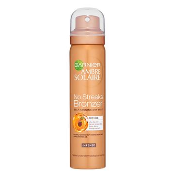Garnier Ambre Solaire No Streaks Bronzer Self-Tanning Dry Face Mist