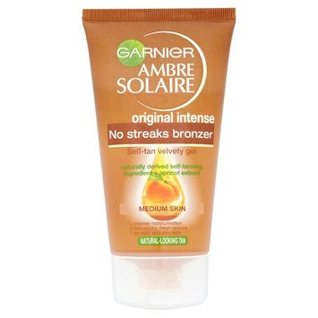 Garnier Ambre Solaire No Streaks Bronzer Self-Tan Velvety Gel