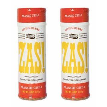 ZAS! Super Seasoning Varieties - 4 ounce - 2 pack (Mango Chili)