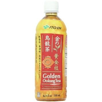 Ito En Tea Beverage, Unsweetened Golden Oolong, 16.9 Ounce (Pack of 12)