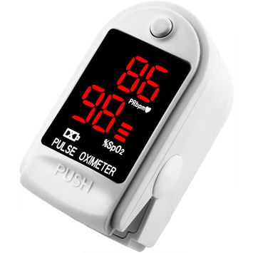 Finger Pulse Oximeter DP100-CMS50DL in White Pearl - The Authentic Pulse Oximeter by Dagamma