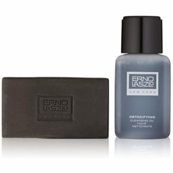 4 Pack - Erno Laszlo Detoxifying Double Cleanse Travel Set 1 ea