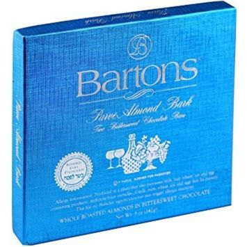 Passover Bartons Parve Almond Bark 3 Pack