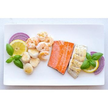 Sizzlefish Paleo Prime Plus Assortment, Fish & Shellfish, 4 Oz, 14 Ct