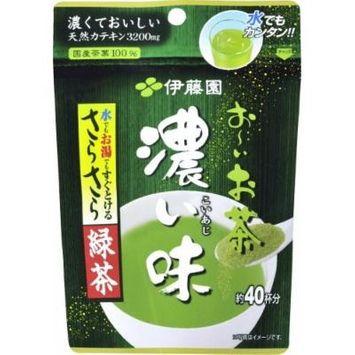 Itoen Oi Ocha Green Tea Dark flavor, Instant Japanese Green Tea 1.13oz