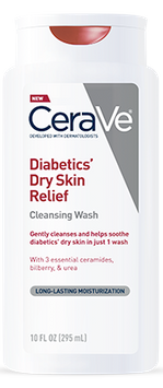 CeraVe Diabetics' Dry Skin Relief Cleansing Wash
