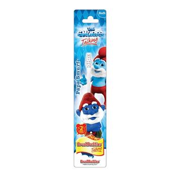 Brush Buddies The Smurfs Talkin Papa Smurf Manual Toothbrush