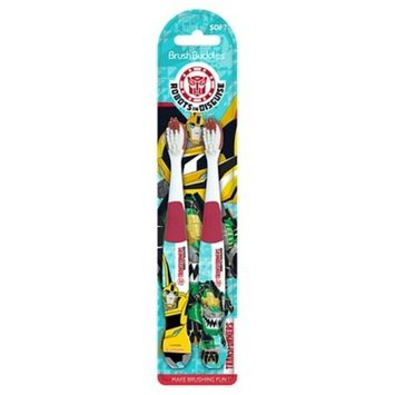 Brush Buddies Transformers Manual Toothbrushes - 2 Count