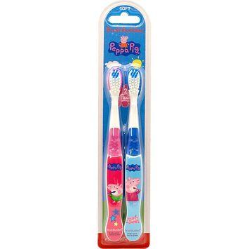 Brush Buddies Peppa Pig 2 Pack Toothbrush [Peppa Pig]