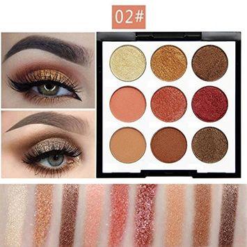 Shimmer Eye Shadow Powder, Alonea Glitter Palette Matte Eyeshadow Cosmetic Makeup 9 Color