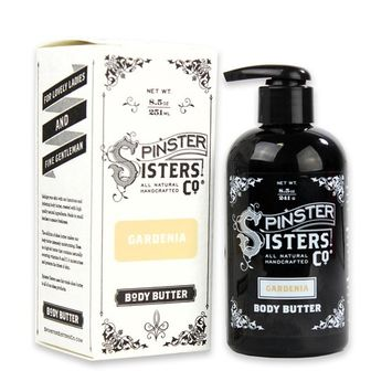Spinster Sisters Body Butter Pump - Gardenia – 8.5oz