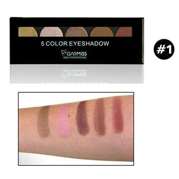 Alonea 5 Colors EyeshadowMatte Nude Eye Shadow Palettes