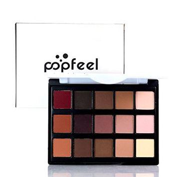 Alonea 15 Colors Cosmetic Matte Eyeshadow Cream Makeup Palette Shimmer Eyeshadow Set