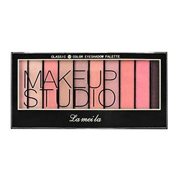 Alonea Makeup Palettes Eyeshadow, Glitter Eye Shadow Powder Shimmer Matt Eyeshadow 10 Color