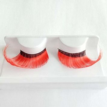 Coerni Premium 1 Pair Cross 3D Thick False Eyelashes for Halloween Party