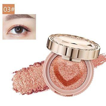 Alonea Eye Shadow, Long Lasting Colorful Eyeshadow Press Powder Cosmetics