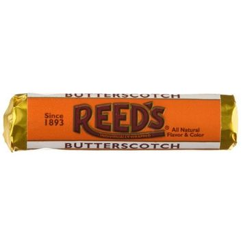 Reed's Rolls Candies, Butterscotch, 24 Count [Butterscotch]