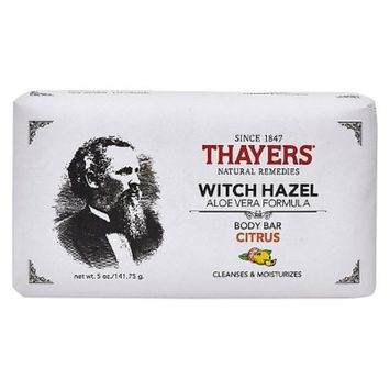 Thayers Body Bars Citrus - 5 oz