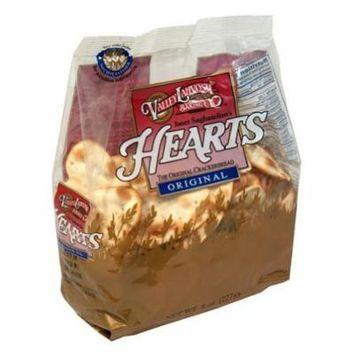 12 PACKS : Valley Lahvosh, Cracker Heart Orgnl Bag, 8 OZ