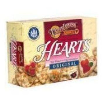 Valley Lahvosh Heart Original Crackerbread, 12 Ounce - 6 per case.