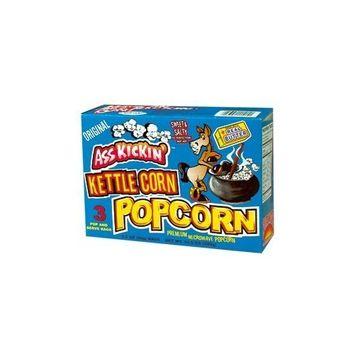 Ass Kickin' - Kettle Corn Microwave Popcorn (3-Pack)