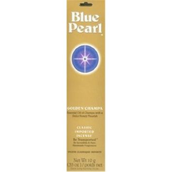 Blue Pearl Incense Incense Premium Golden Champa Blue Pearl 10 gram Incense