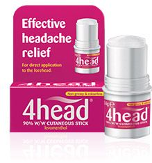 4head Effective Headache Relief Stick