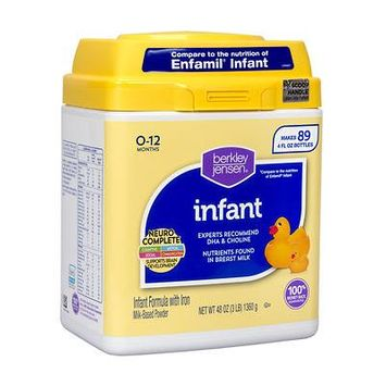 Berkley Jensen Infant Formula; 48 oz. - (Baby Formula)