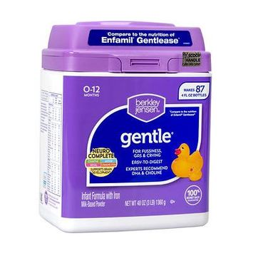 Berkley Jensen Gentle Infant Formula; 48 oz. - (Baby Formula)