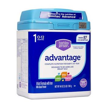 Berkley Jensen Advantage Infant Formula; 48 oz. - (Baby Formula)