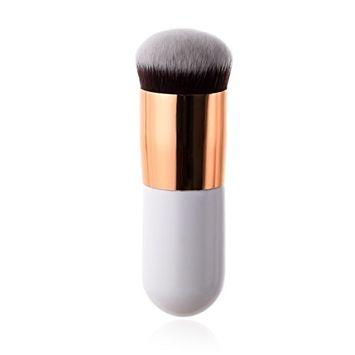 Kasla Professional Soft Blush Powder Sector Foundation Makeup Brush