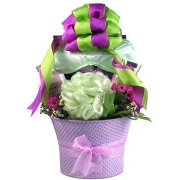 Gift Basket Village LaFi Lavender Fields, Spa Gift Basket For Her