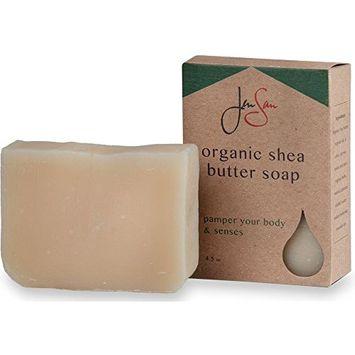 JenSan Patchouli Anise Moisturizing Natural Organic Shea Butter Soap Bar - Handmade – 4.5 oz