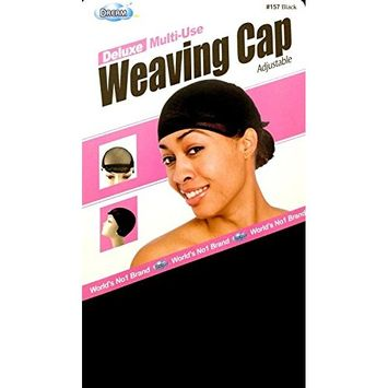 Dream Deluxe Multi Use Weaving Cap Black #0157 - 2 pack