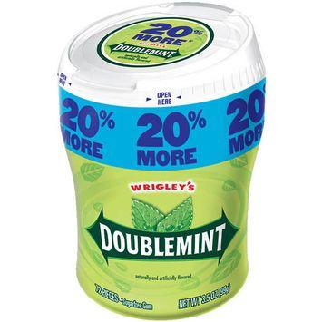 Doublemint Sugarfree Gum, 72 count, 3.5 oz