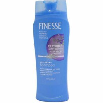 Finesse Restore + Strengthen with Yardley Lavender, Moisturizing Shampoo 13 oz (Pack of 6)