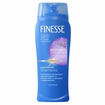 Finesse Shampoo with a Touch of Yardley Lavender for All Hair Types 13.0 fl oz(pack of 4)