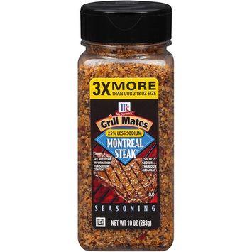 McCormick 25% Less Sodium Montreal Steak Seasoning, 10 OZ