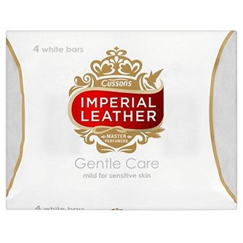 Imperial Leather Gentle Care Soap Bars Sensitive Skin (4x100g)