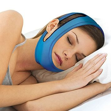 Anti-Snore Adjustable Chin Strap - Sleeping Device Keeps Mouth Shut At Night