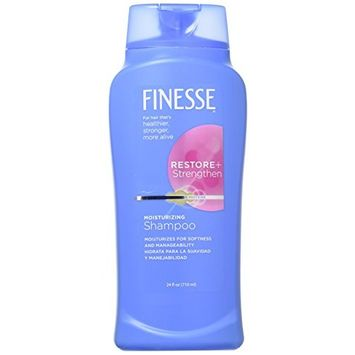 Finesse Restore & Strengthen Moisturizing Shampoo & Conditioner Combo 13 Oz Each