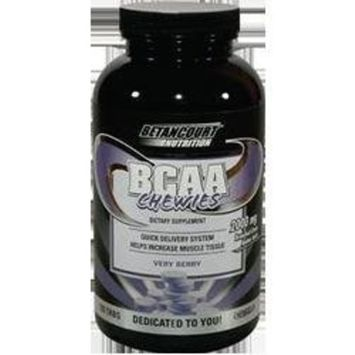 Betancourt Nutrition BCAA Chewies, Very Berry, Box of 10 Tubes (Pack of 2)
