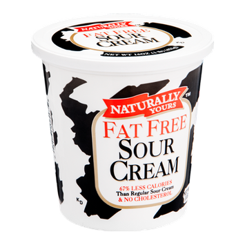 Naturally Yours Sour Cream Fat Free