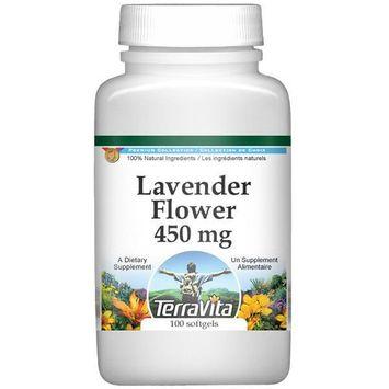 Lavender Flower - 450 mg (100 capsules, ZIN: 511864)