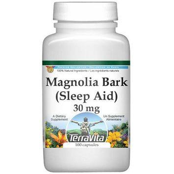 Magnolia (Hou Po) Bark - Sleep Aid - 30 mg (100 capsules, ZIN: 512457)