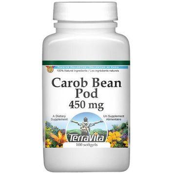 St. John's Bread (Carob Bean Pods) - 450 mg (100 capsules, ZIN: 514575)