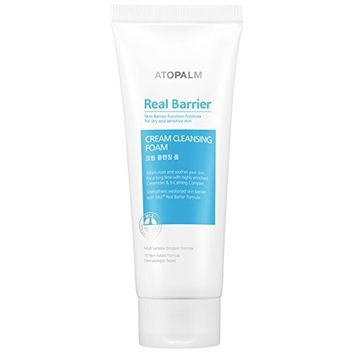 Atopalm Real Barrier, Cream Cleansing Foam, 5.3 Ounce