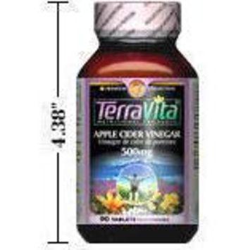 Apple Cider Vinegar - 500 mg (90 tablets, ZIN: 406579)