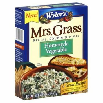 Mrs. Grass Soup & Dip Mix Homestyle Vegetable, 2-Ounces (Pack of 12)