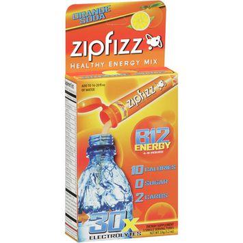 Zipfizz Orange, 3 count